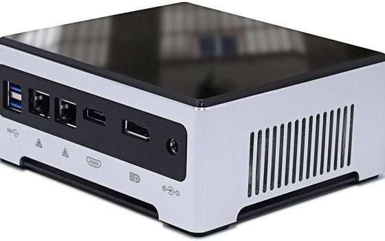 Mini PC fascia alta con i7 16/512GB con sconto doppio