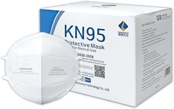Mascherine KN95 con certificazione CE: pacco da 50 a soli 44€