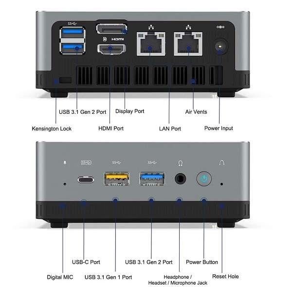 Mini PC Minis Forum UM250 - 2