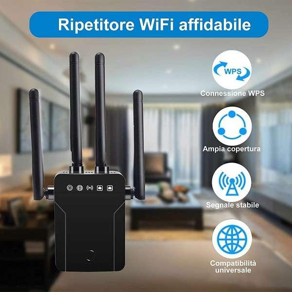 Ripetitore Wi-Fi 4 in 1 Gobran - 1