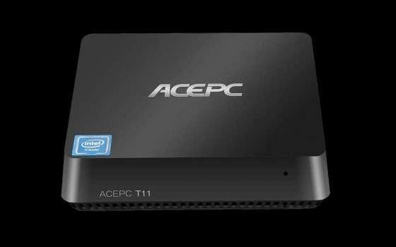 Mini PC ACEPC T11 da 8/128GB in offerta lampo su Amazon!