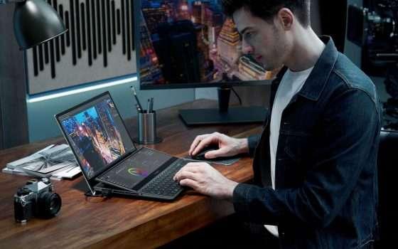 CES 2021: ASUS ZenBook Duo con doppio schermo