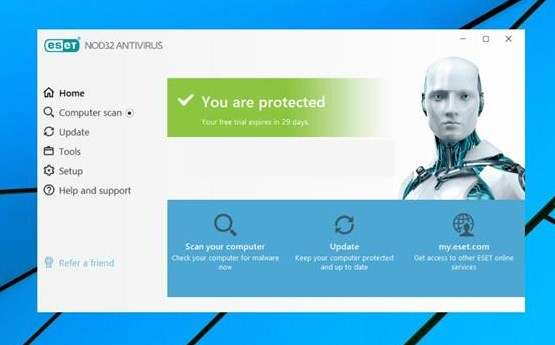 antivirus windows ESET