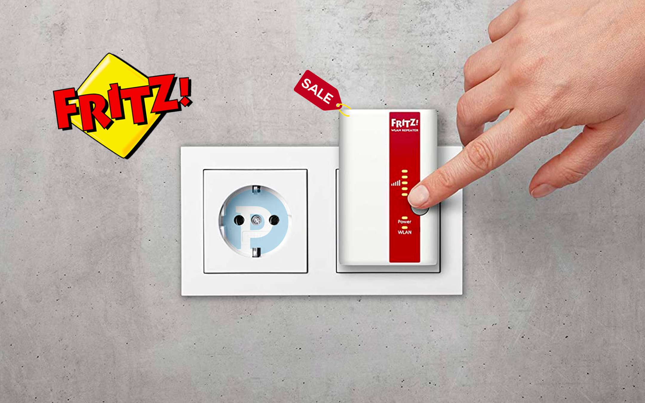 FRITZ! Repeater 310: WiFi repeater today at half price
