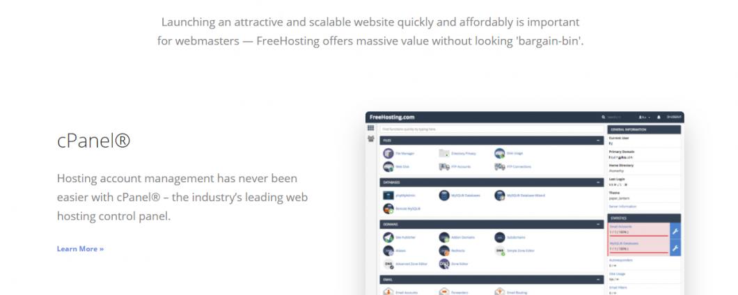 Freehosting web hosting