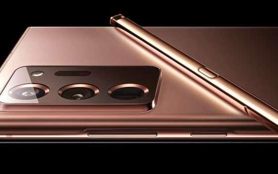 Galaxy Note 20, sconto di 300 euro su Amazon