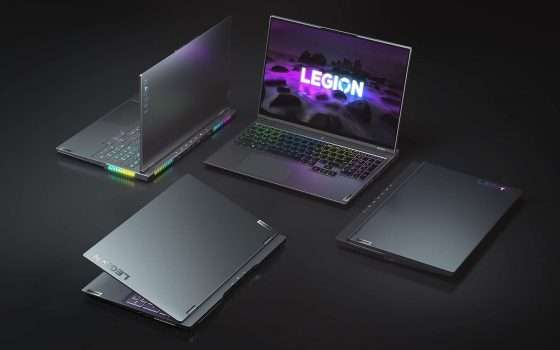 CES 2021: Lenovo Legion, notebook con GeForce RTX 30