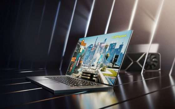 CES 2021: NVIDIA GeForce RTX 30 per notebook