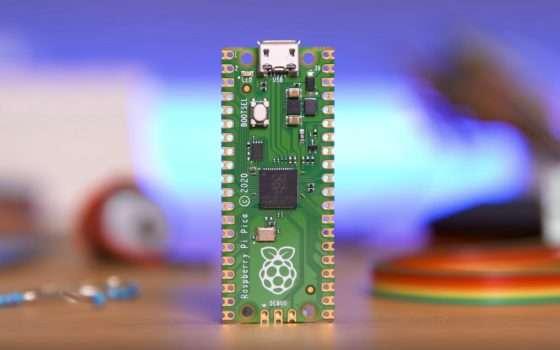 Raspberry Pi Pico, microcontroller ARM a 4 euro