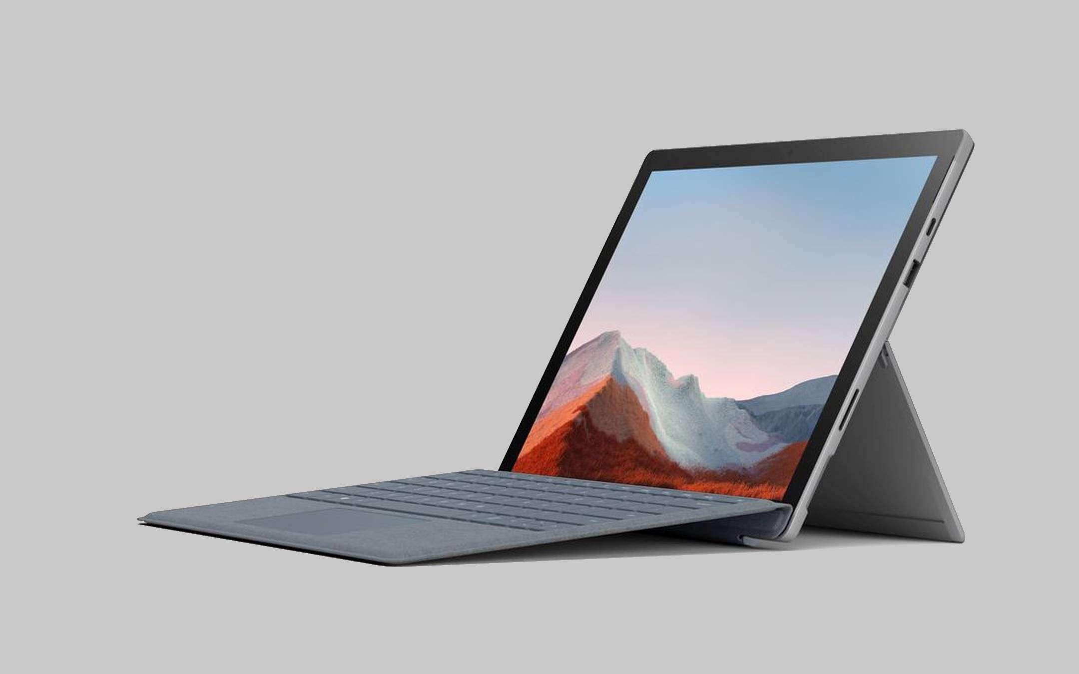 Surface Pro 7 Plus: Microsoft sells SSDs