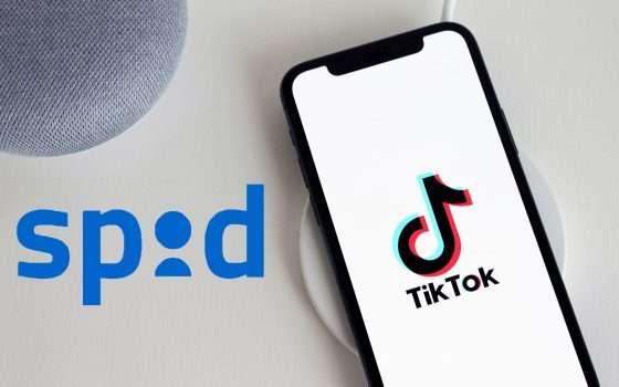 TikTok: obbligo di iscrizione con SPID?