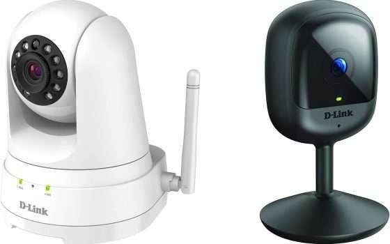 D-Link: 2 videocamere di sicurezza in grande sconto!