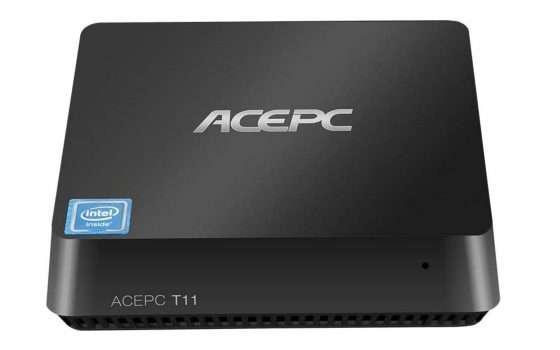 Mini PC Inte 4 core doppio monitor a meno di 120 euro