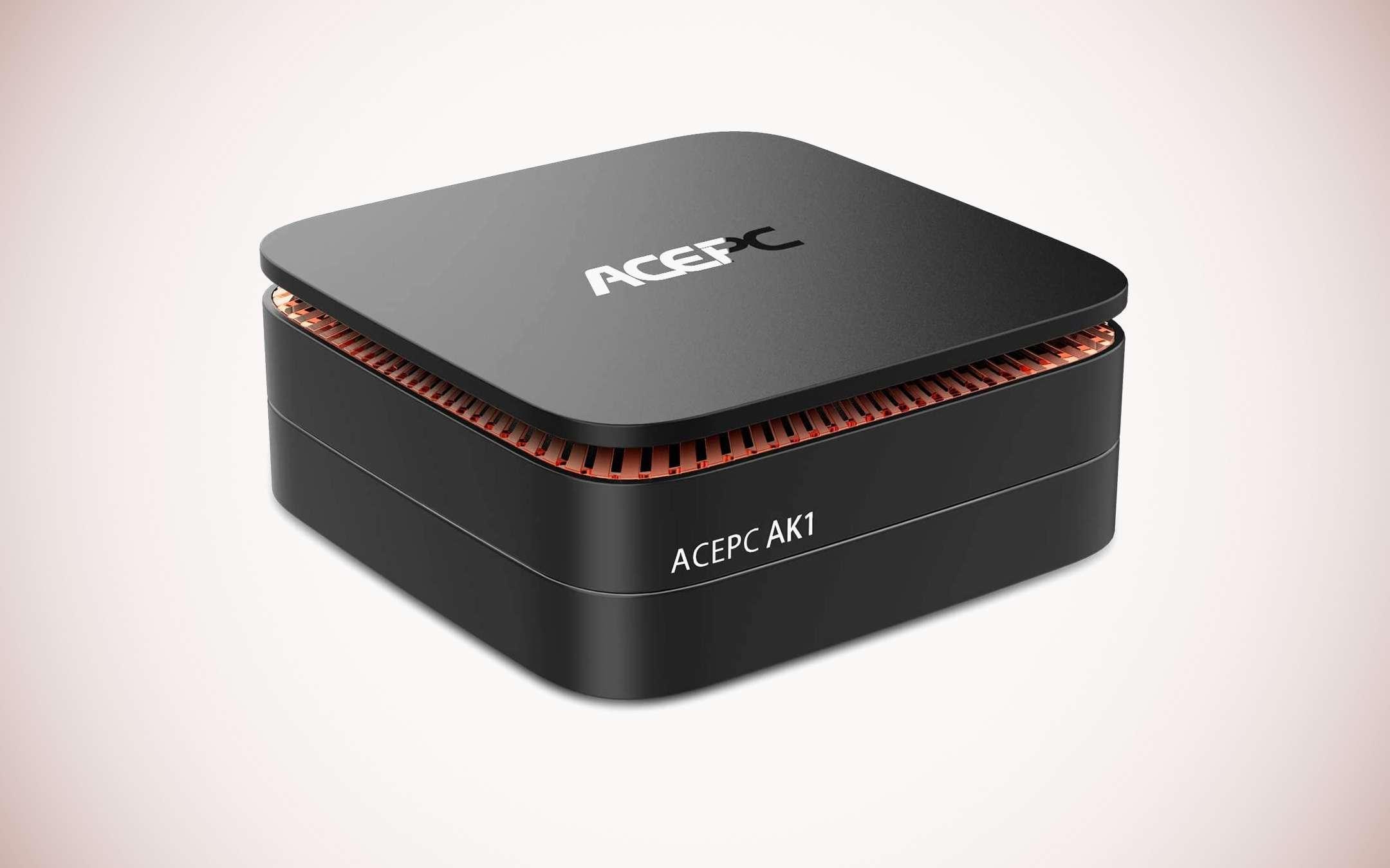 ACEPC AK1: Mini PC with Intel CPU and W10 Pro at -20%
