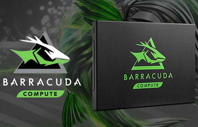 La SSD da 500 GB della serie BarraCuda 120