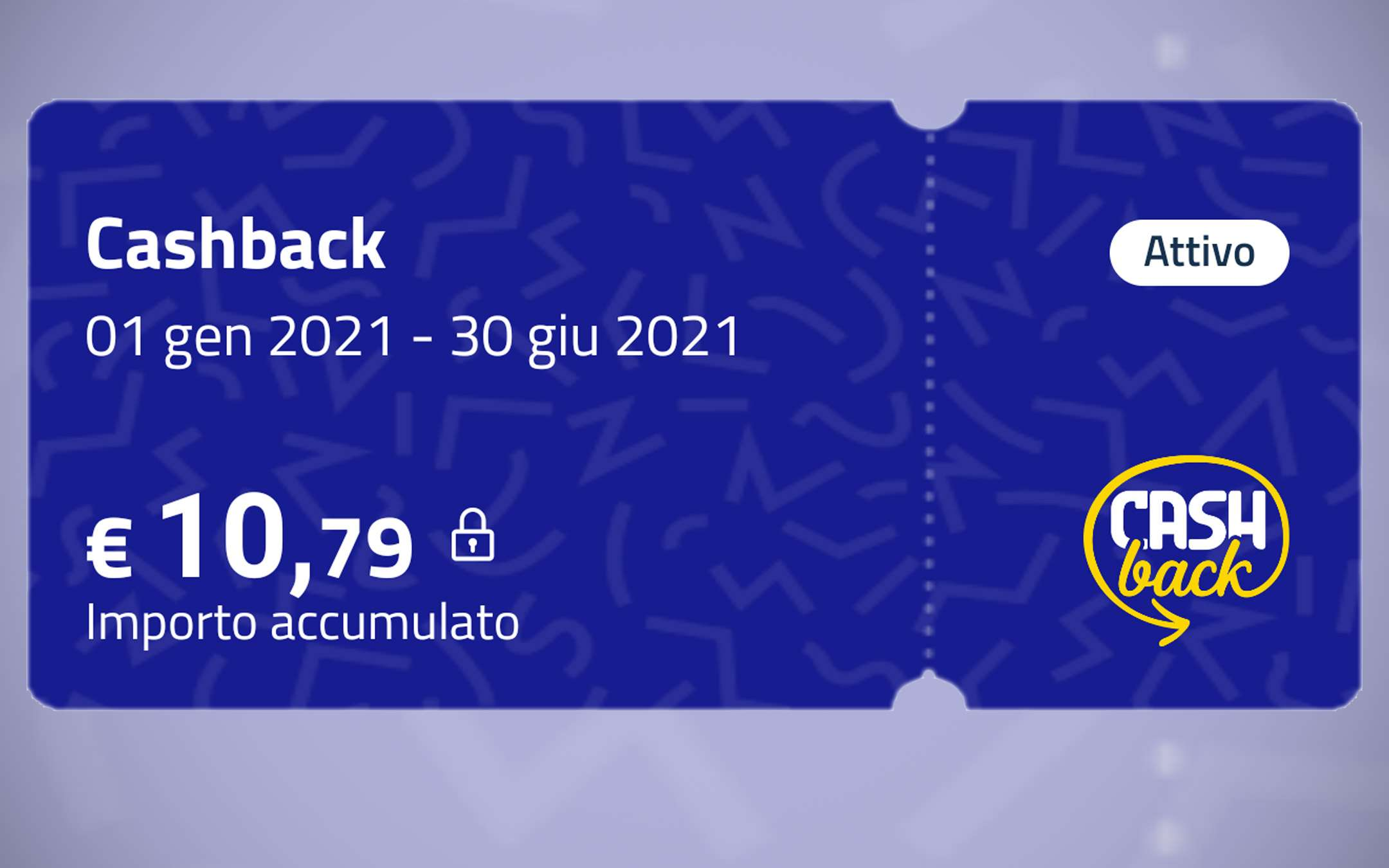 Cashback: transaction count stopped for 48 hours