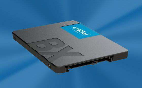 SSD Crucial BX500 da 1 TB a soli 87€ su Amazon