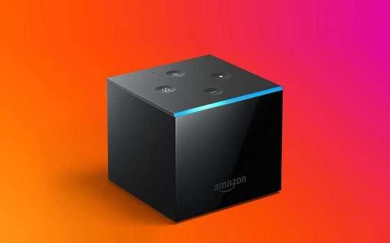 Fire TV Cube: sconti e vantaggi al cubo