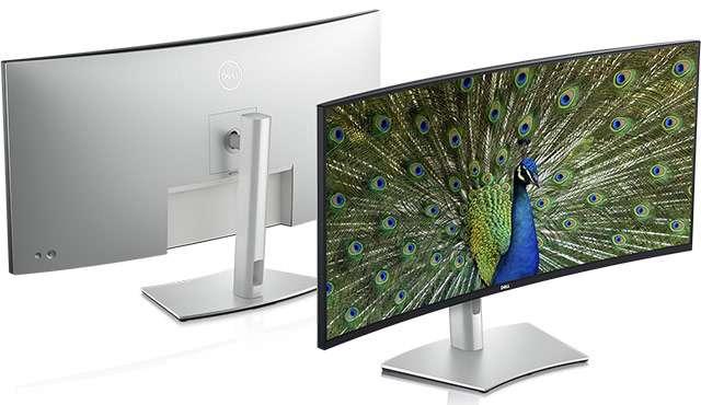 Lo schermo Dell UltraSharp 40 Curved WUHD Monitor