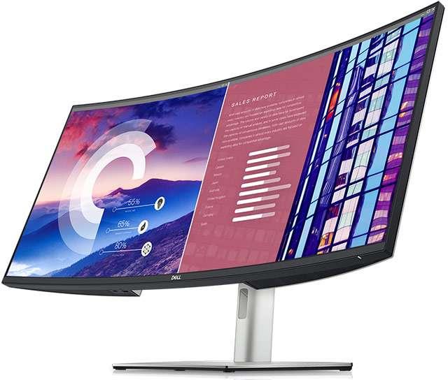 Lo schermo Dell UltraSharp 38 Curved USB-C Hub Monitor