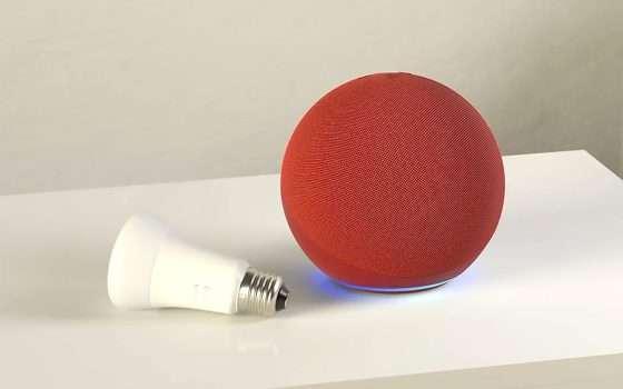 Echo e Philips Hue: speaker e lampadina a -20%