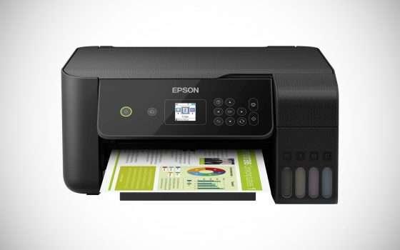 Stampante Epson con serbatoi d'inchiostro a -27%