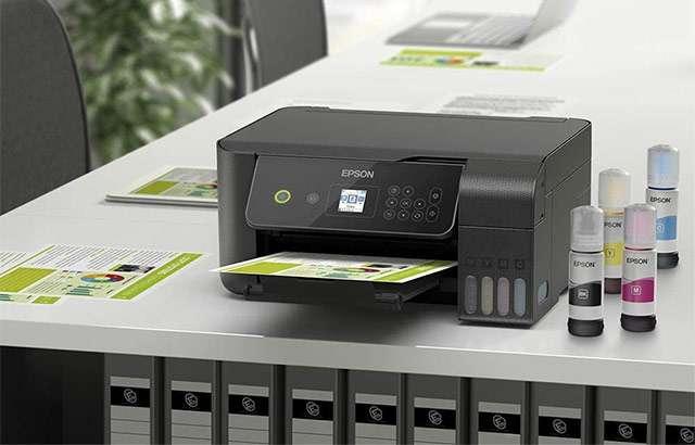 La stampante multifunzione Epson EcoTank ET-2720 per l'ufficio con serbatoi d'inchiostro
