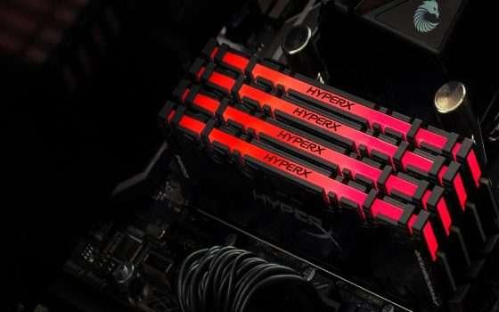 HyperX Predator DDR4 RGB da 256 GB scontato di ben 620€!
