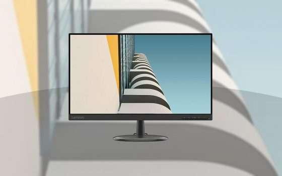 Lenovo D24-20: monitor 23,8'' FHD oggi in sconto