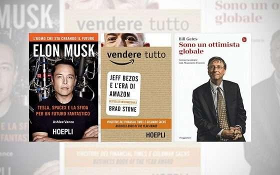 Tre libri sui paperoni hi-tech: Musk, Bezos e Gates