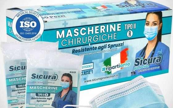 Mascherine chirurgiche: l'offerta su Amazon