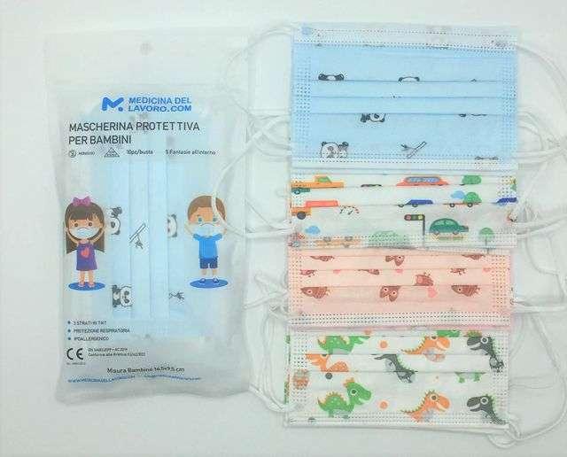 Mascherine chirurgiche per bambini