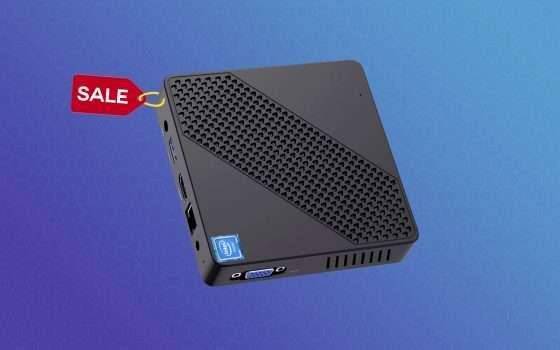 Mini PC con Windows 10 in offerta lampo a soli 127€