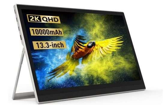 Monitor portatile 2K touch screen in offerta