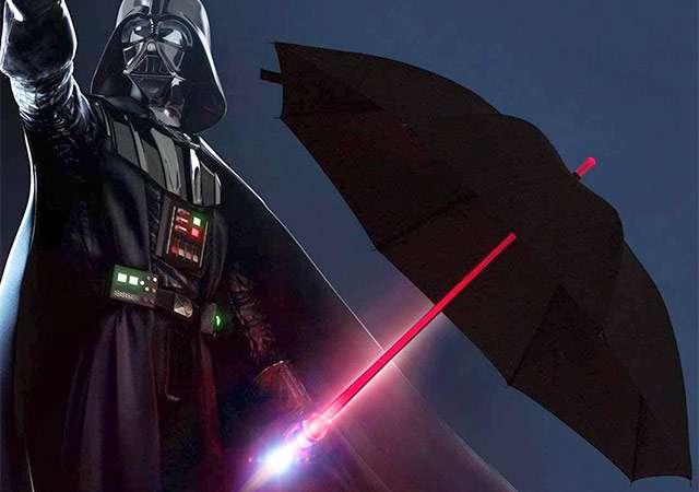 L'ombrello con spada laser incorporata