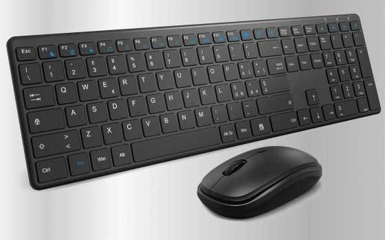 Mouse e tastiera: a qualcuno piace essenziale