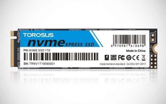 SSD NVMe PCle in offerta lampo su Amazon