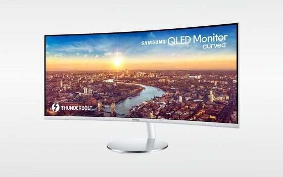 Samsung C34J791, sconto super per un display maxi