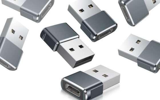 Da USB-A a USB-C: ecco l'offerta sui riduttori