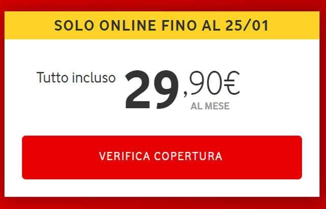 L'offerta di Vodafone per Internet a casa: verifica la copertura
