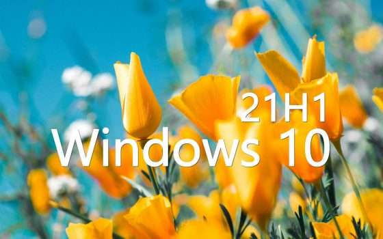 Windows 10 21H1 non sarà un major update