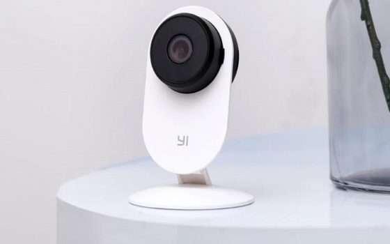 Videocamera di sorveglianza YI scontata del 47%: solo 21€!