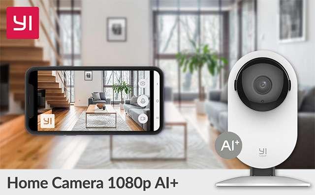 YI Home Camera 1080p, videocamera di sorveglianza intelligente per la smart home