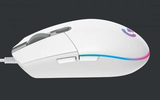 Mouse Logitech G203 LIGHTSYNC a soli 24€ su Amazon