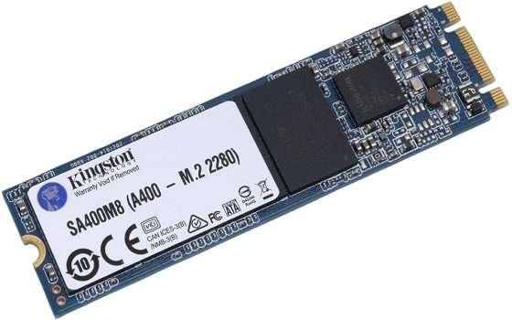 SSD Kingston A400: la versione M.2 da 120GB in sconto del 59%