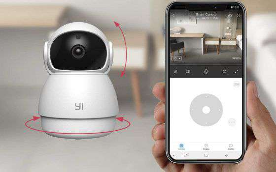 YI Dome Guard: sicurezza a 360° a soli 25,99€