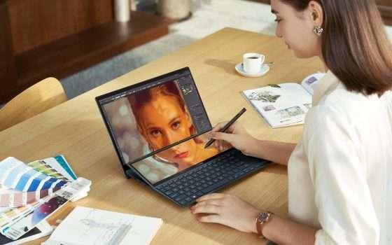 ASUS ZenBook Duo 14 (UX482) arriva in Italia