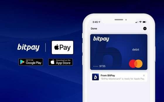 BitPay porta le criptovalute in Apple Pay
