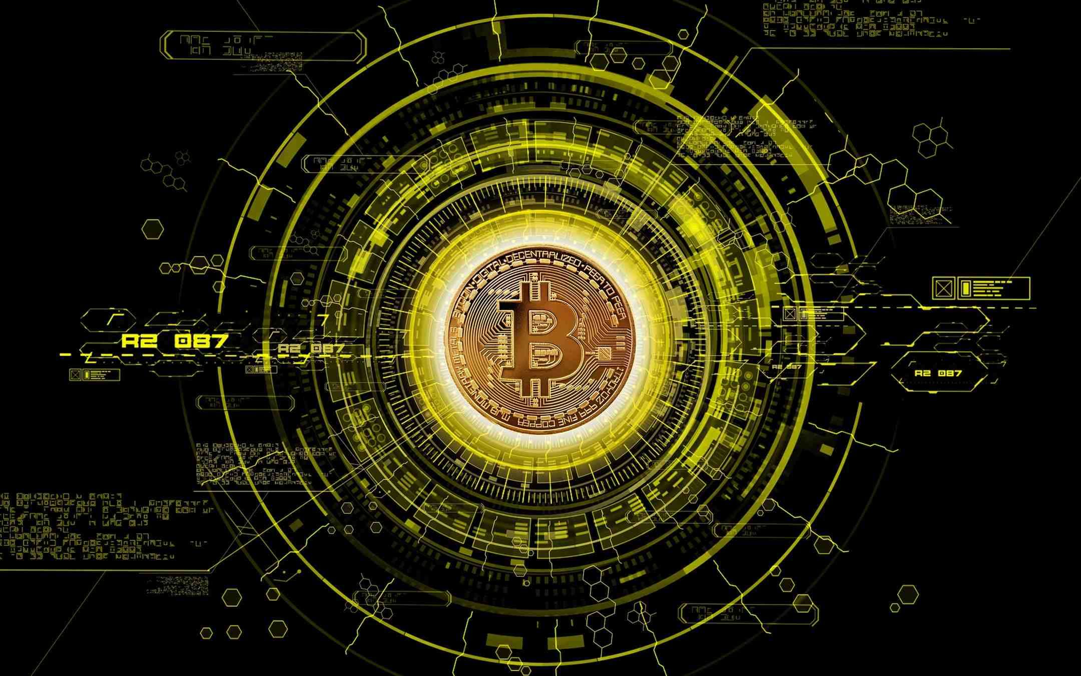 Botnet protected by a Bitcoin blockchain