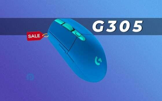 Logitech G305: Mouse da Gaming Wireless in super offerta (-22%)